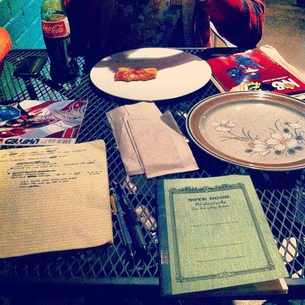 Photo taken at Bennu Coffee by Lorenzo G. on 11/12/2012