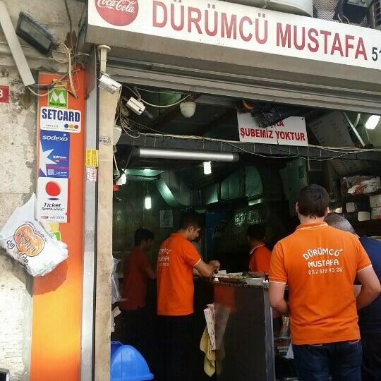 5/19/2016 tarihinde Tarık İ.ziyaretçi tarafından Dürümcü Mustafa'de çekilen fotoğraf