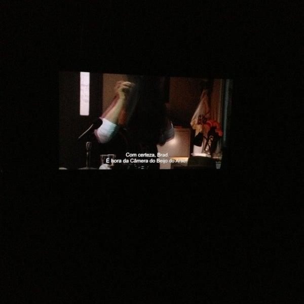 Photo taken at Cinespaço Beiramar by Gustavo O. on 1/20/2013