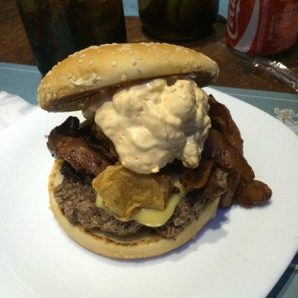 V8 burger was epic!