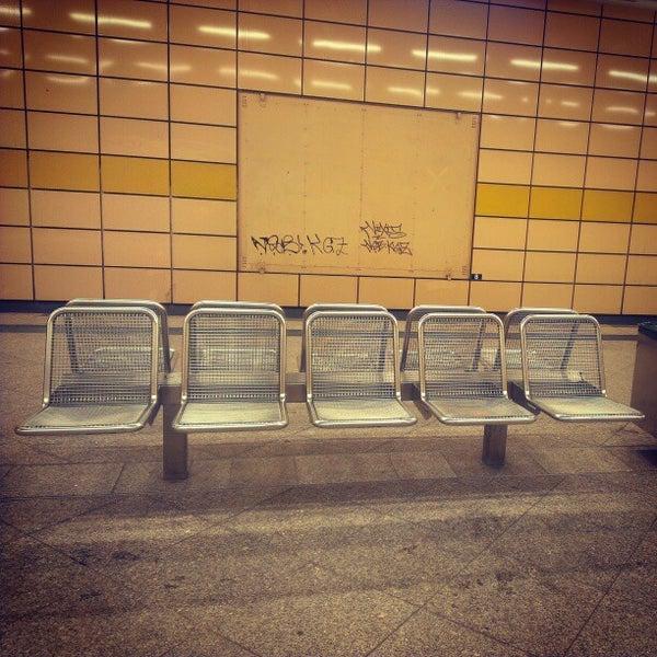 Photo taken at U Weberwiese by Nicole W. on 2/20/2013