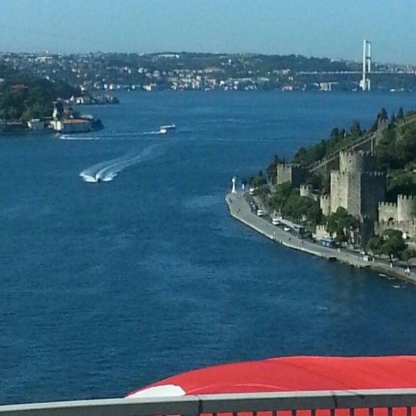 Photo taken at Fatih Sultan Mehmet Bridge by Fdn D. on 11/11/2013