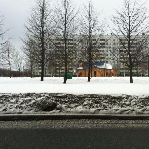 Photo taken at Храм святого Николая Чудотворца by Kirill P. on 3/1/2013