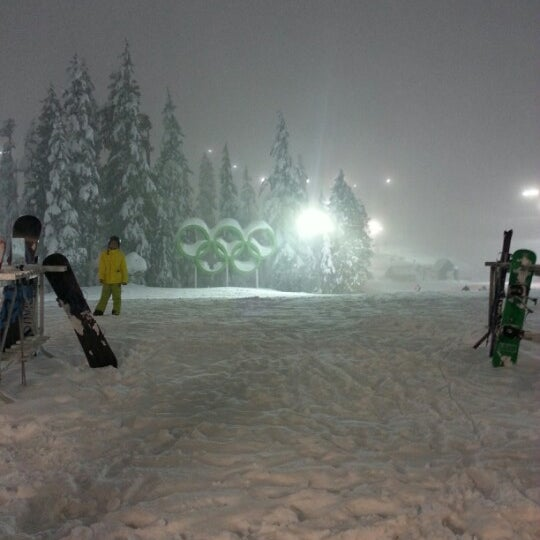 Photo taken at Cypress Mountain Ski Area by Fin on 12/23/2012