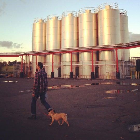 Photo taken at Lagunitas Brewing Company by David S. on 12/18/2012