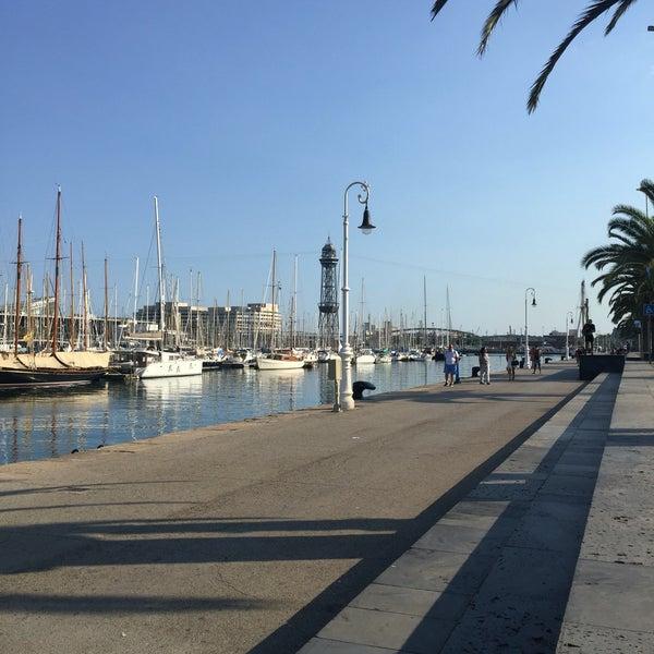 Photo taken at OneOcean Port Vell Barcelona by Sofi V. on 7/5/2016