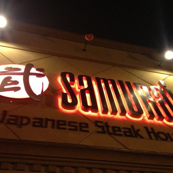 Photo taken at Samurai Japanese Steakhouse by Ken L. on 5/29/2013