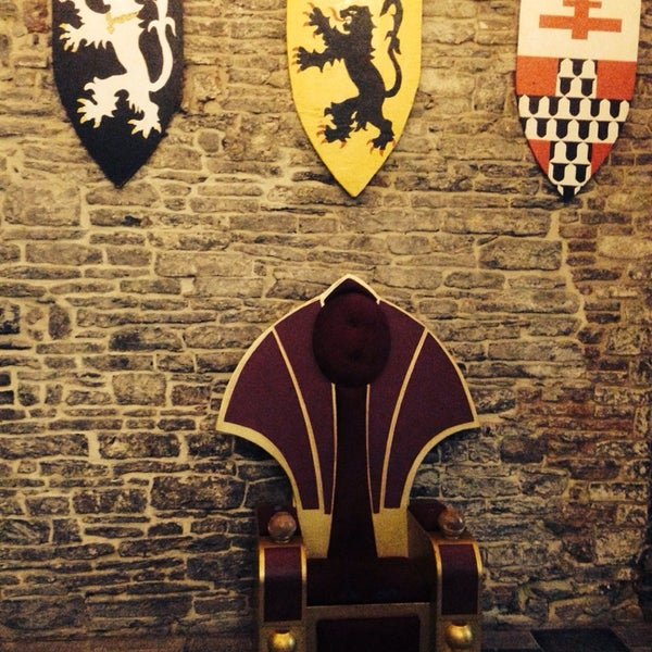 Photo taken at Castle of the Counts by Alex C. on 2/14/2014