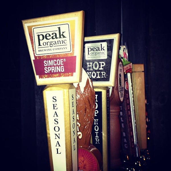 Photo taken at Upstate Craft Beer and Oyster Bar by Zach Peak P. on 2/21/2013