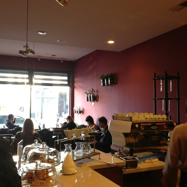 Photo taken at Stanza Coffee Bar by Keegan D. on 1/15/2013