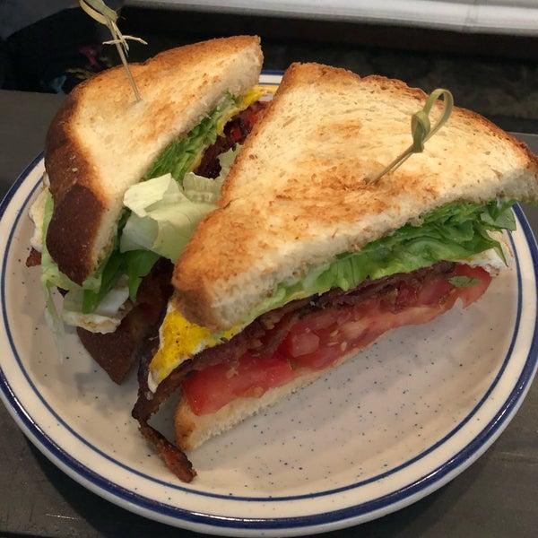 Delicious BLT sandwich.