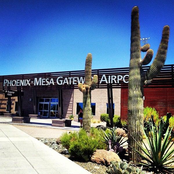Photo taken at Phoenix-Mesa Gateway Airport (AZA) by Suzanne M. on 7/29/2013