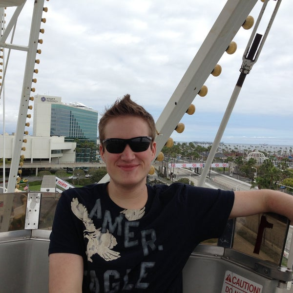 Photo taken at Ferris Wheel At The Pike by Scott B. on 4/14/2013