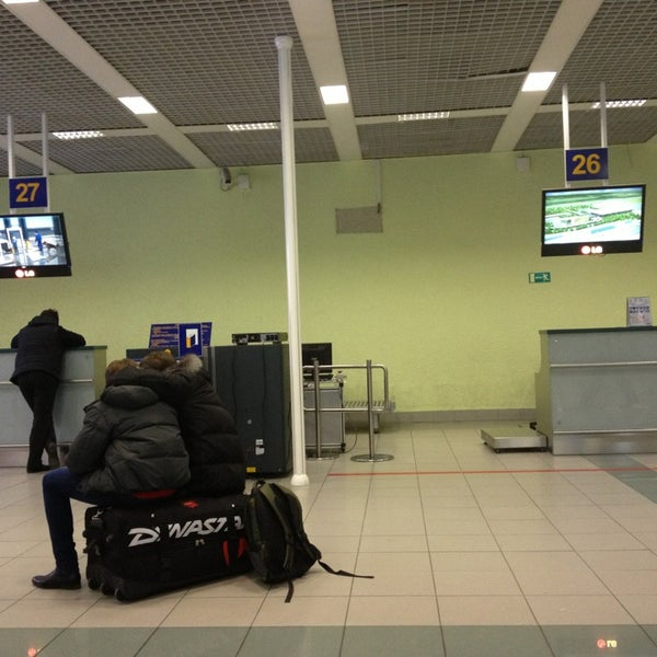 Photo taken at Check-in desk by Николай М. on 1/6/2013