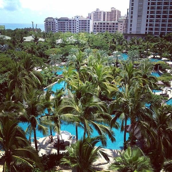 Photo taken at HowardJohnson Resort Sanya Bay by yan j. on 6/5/2014