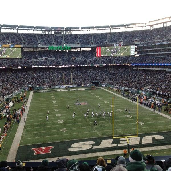 Photo taken at MetLife Stadium by Gabriel R. on 12/23/2012