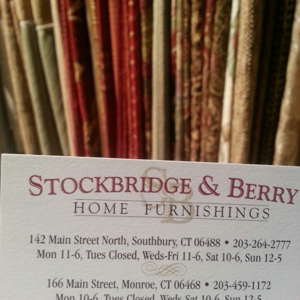 stockbridge and berry furniture home store in southbury
