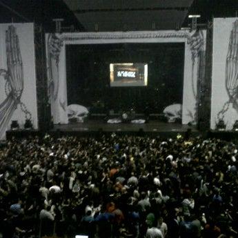 Photo taken at Palacio de los Deportes by Eider B. on 3/30/2012