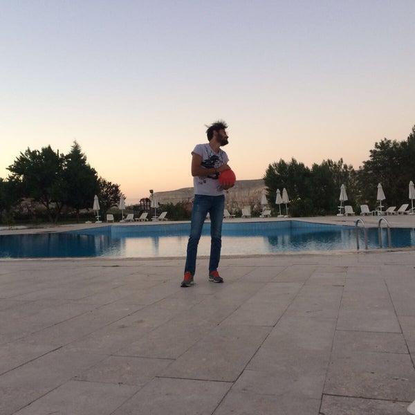 8/26/2017 tarihinde Ahmet E.ziyaretçi tarafından Tourist Hotels & Resorts Cappadocia'de çekilen fotoğraf