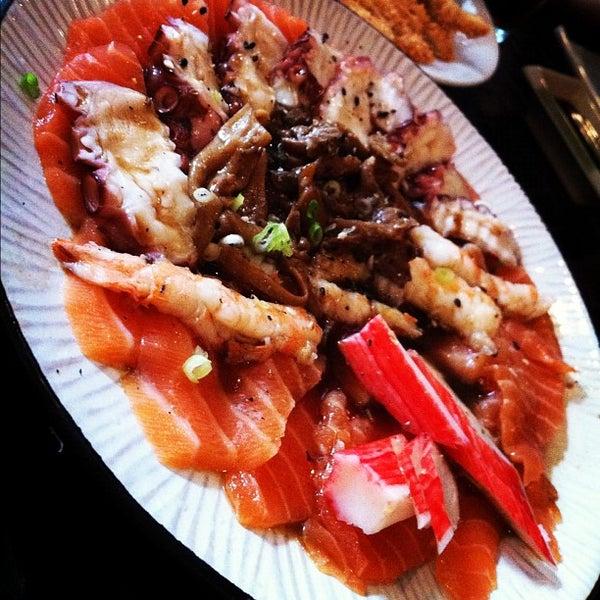 Photo taken at Joy Sushi by Ivan M. on 12/15/2012