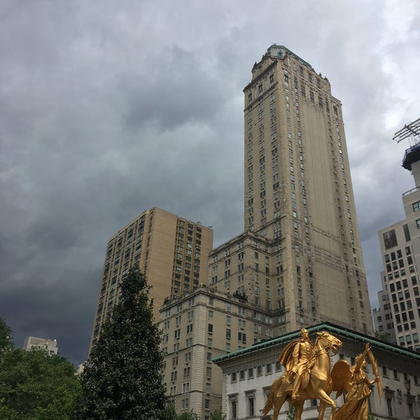 Photo taken at Grand Army Plaza by Ana M. on 5/27/2017