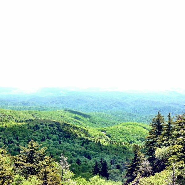 Photo taken at Grandfather Mountain by Anibel on 6/11/2013