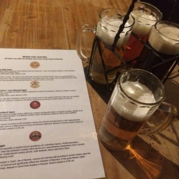Photo taken at Czech Beer Museum Prague by Pam C. on 3/9/2016