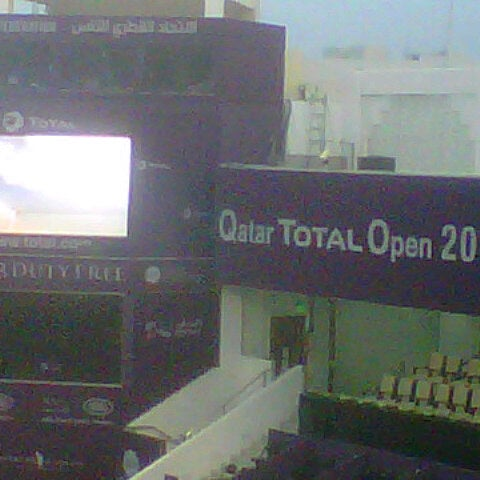 Photo taken at Qatar Tennis Federation by Mohamed K. on 2/11/2013