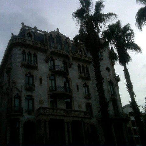 Photo taken at Hotel Casa Fuster by Erik on 9/27/2012