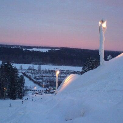 Снимок сделан в Красное озеро пользователем Дима К. 1/27/2013
