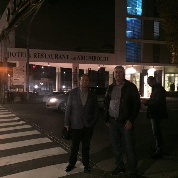 Foto scattata a Hotel Arcimboldi da rafi a. il 11/13/2015