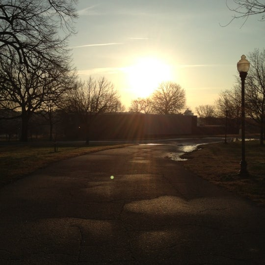Photo taken at Patterson Park by Myke @. on 12/25/2012