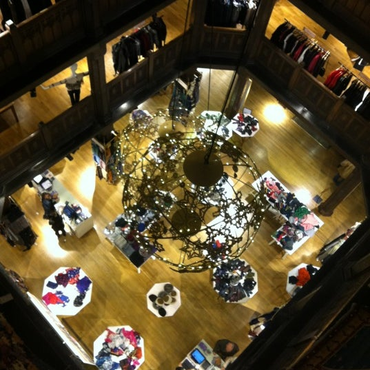 Photo taken at Liberty of London by Ross M. on 11/12/2011