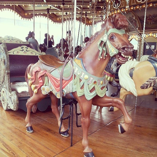 Photo taken at Jane's Carousel by Agent K. on 6/15/2013