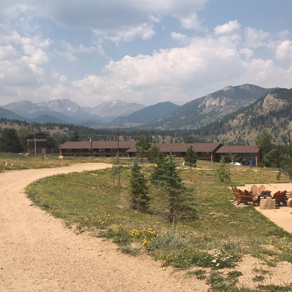 Photo taken at YMCA of the Rockies by Carla W. on 9/1/2017