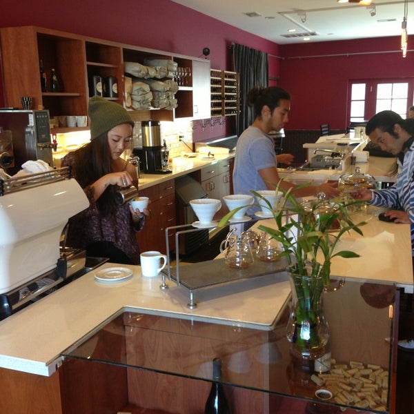 Photo taken at Stanza Coffee Bar by Ryan D. on 5/19/2013