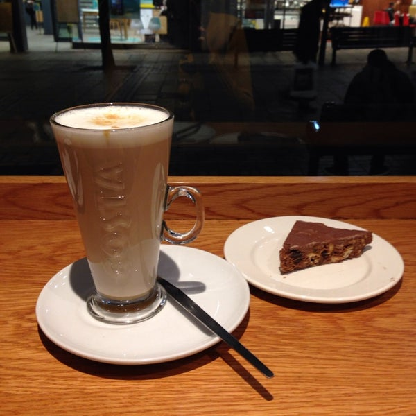 Photo taken at Costa Coffee by Agnese K. on 1/11/2014