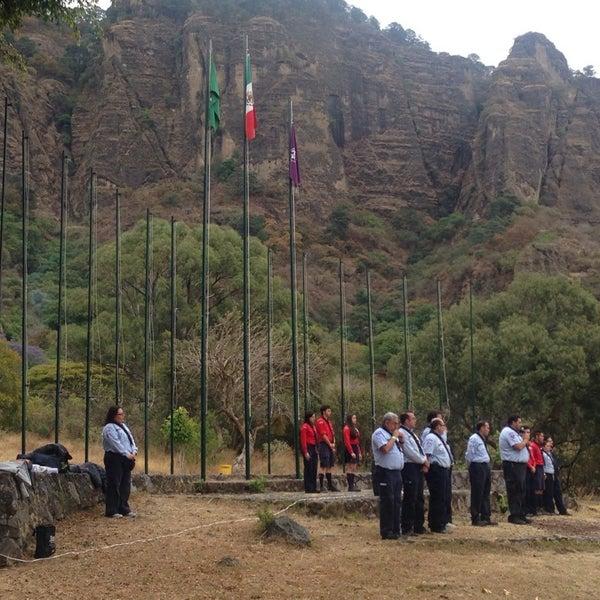 Foto tirada no(a) Campo Escuela Scout Meztitla por Filatetes A. em 3/14/2015