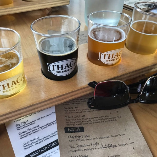 Photo taken at Ithaca Beer Co. Taproom by Brock B. on 8/6/2017
