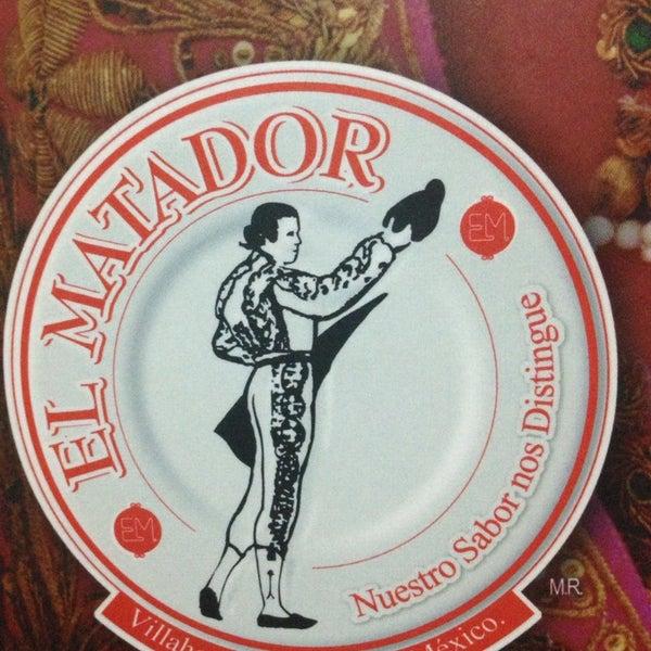 Foto tomada en Restaurante El Matador por Jaime M. el 12/23/2013