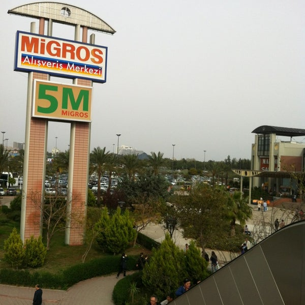 4/1/2013 tarihinde Mehmet K.ziyaretçi tarafından Antalya Migros AVM'de çekilen fotoğraf