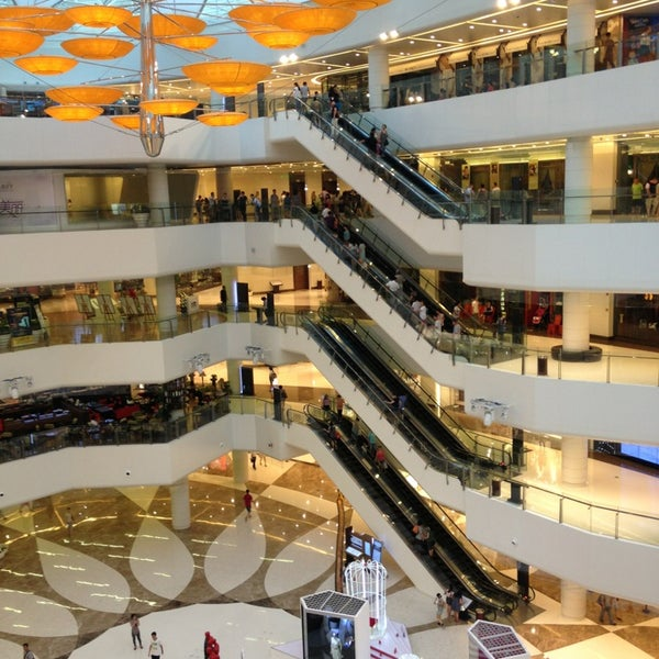 Photo taken at 银河国际购物中心 Galaxy Mall by PoMonkey on 8/9/2013