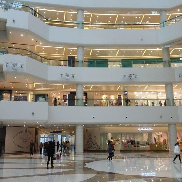 Photo taken at 银河国际购物中心 Galaxy Mall by PoMonkey on 4/5/2013