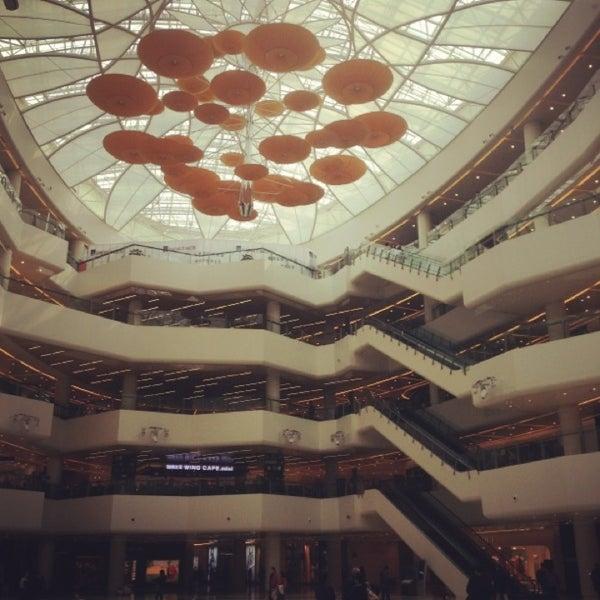 Photo taken at 银河国际购物中心 Galaxy Mall by PoMonkey on 3/16/2013