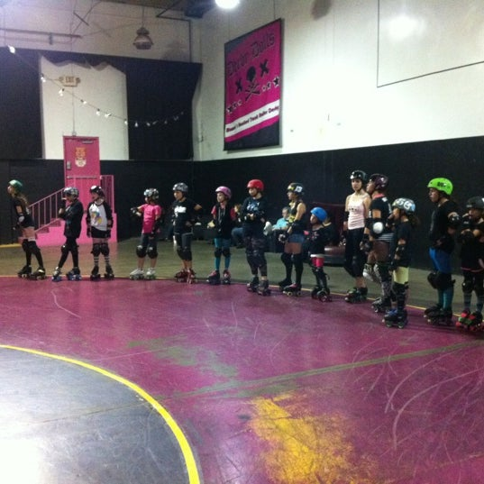 Photo taken at Doll Factory (L.A. Derby Dolls) by Dumptruck on 11/17/2012