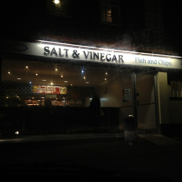 Salt vinegar fish and chips fish chips shop for Best fish and chips nyc