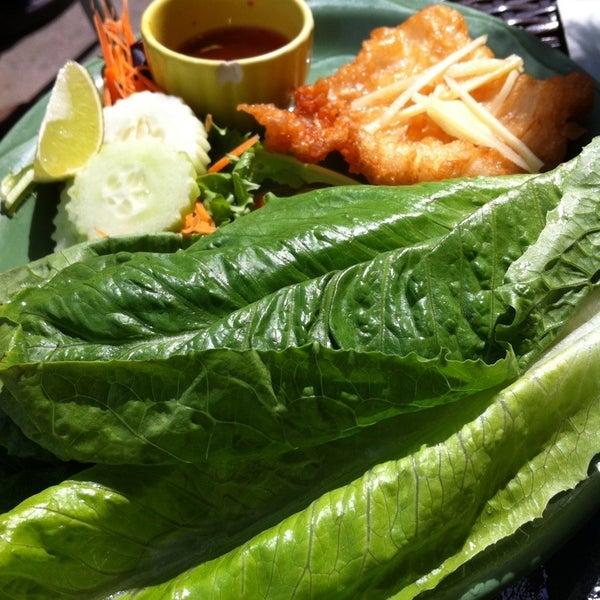 Lemongrass 38 tips for Drunken fish menu