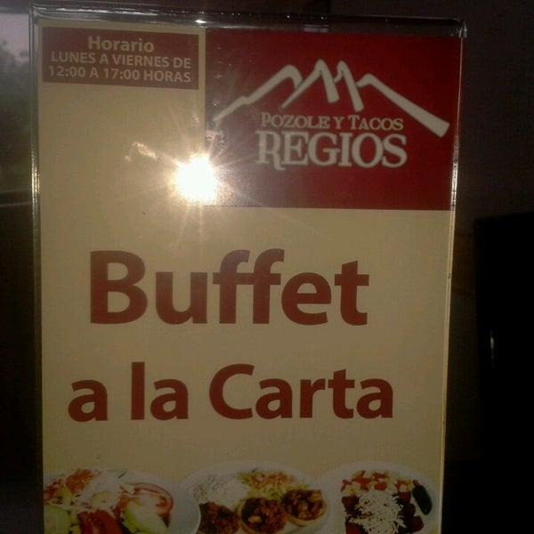 Photo taken at Pozole y Tacos Regios by Alan M. on 6/14/2013