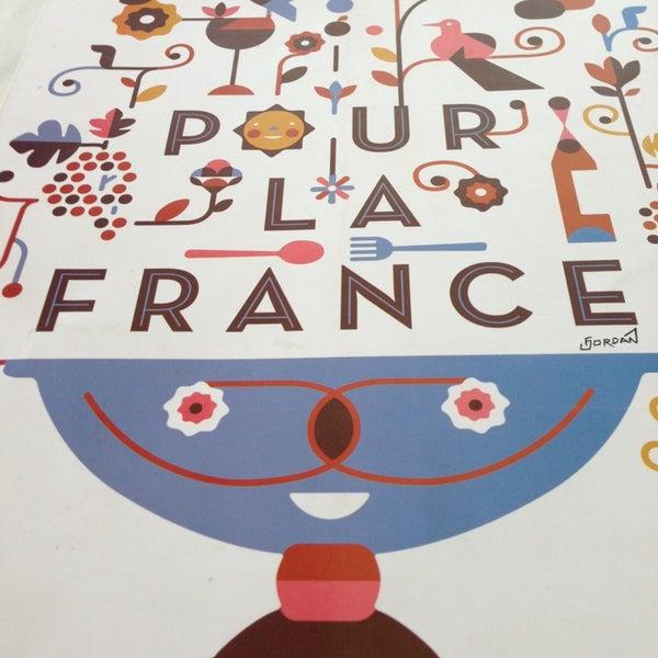 Photo taken at Pour La France by Joenn R. on 3/24/2013