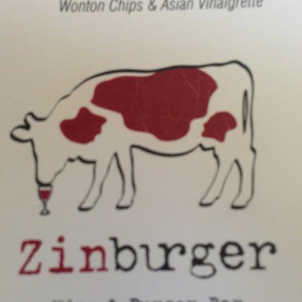 Photo taken at Zinburger by Vicki H. on 5/2/2013